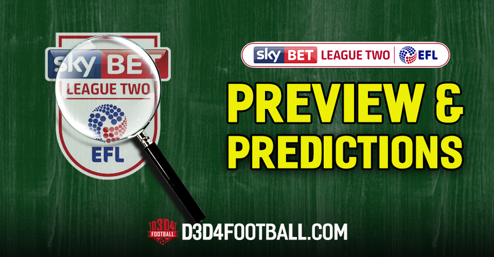 League Two preview and predictions: 06 April 2019 – D3D4